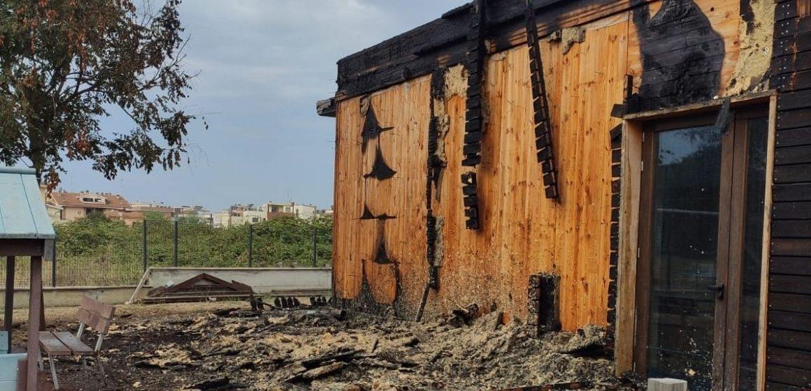Guidonia, incendio asilo: è stato un guasto elettrico